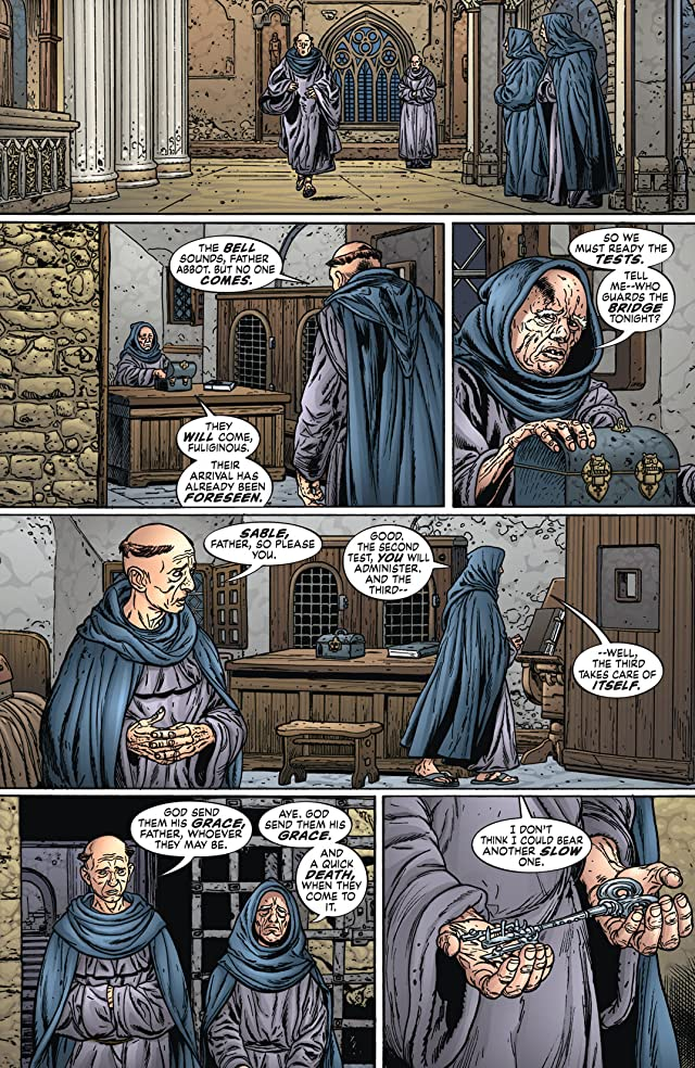 click for super-sized previews of Neil Gaiman's Neverwhere #6