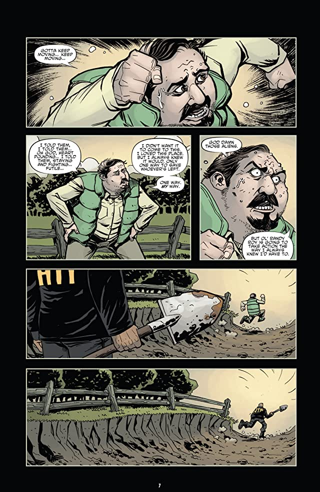 click for super-sized previews of The Colonized #3