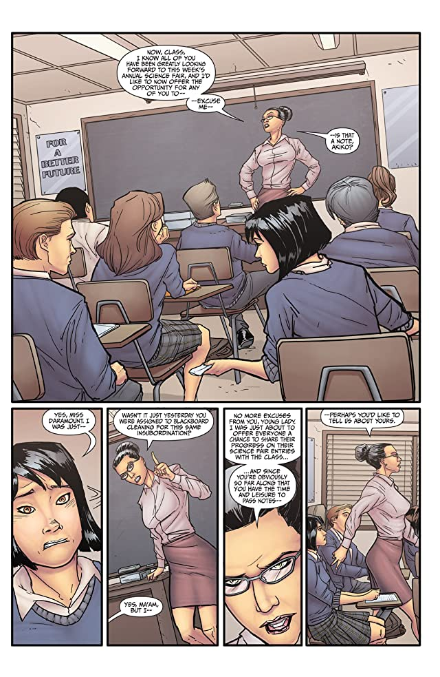 click for super-sized previews of Morning Glories #1