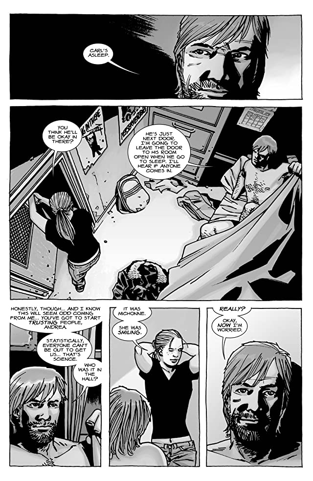 click for super-sized previews of The Walking Dead #111