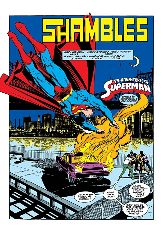 click for super-sized previews of Adventures of Superman (1986-2006) #434