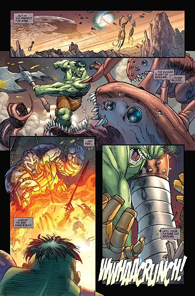 click for super-sized previews of Skaar: Son of Hulk #1
