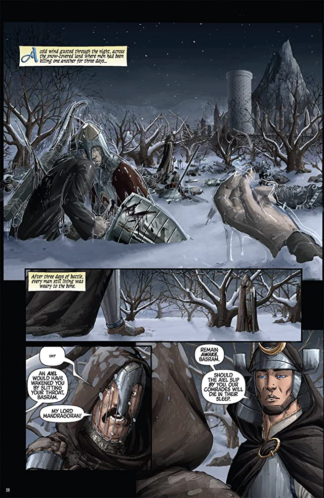 click for super-sized previews of Robert Jordan's New Spring #1