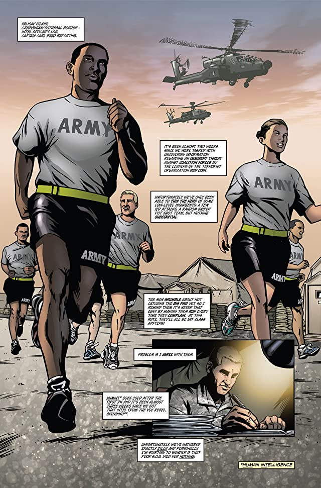 click for super-sized previews of America's Army #4: Escalation