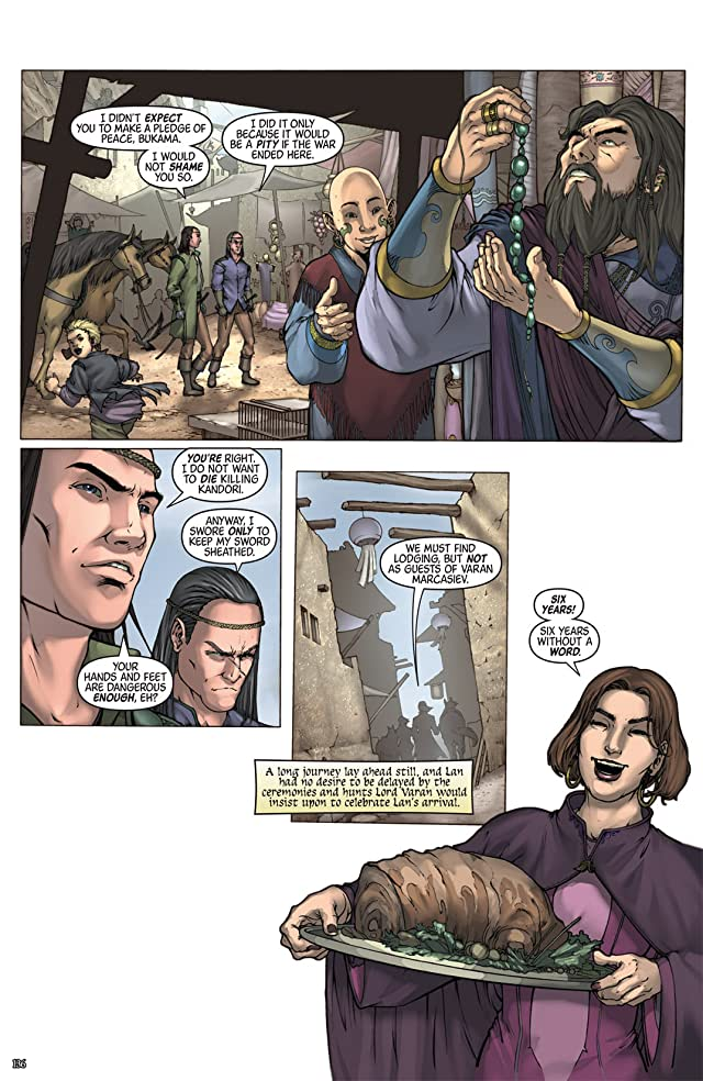 click for super-sized previews of Robert Jordan's New Spring #6