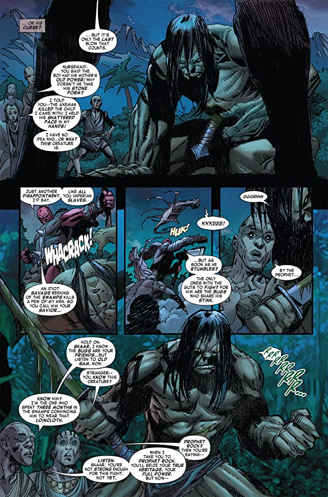 click for super-sized previews of Skaar: Son of Hulk #2