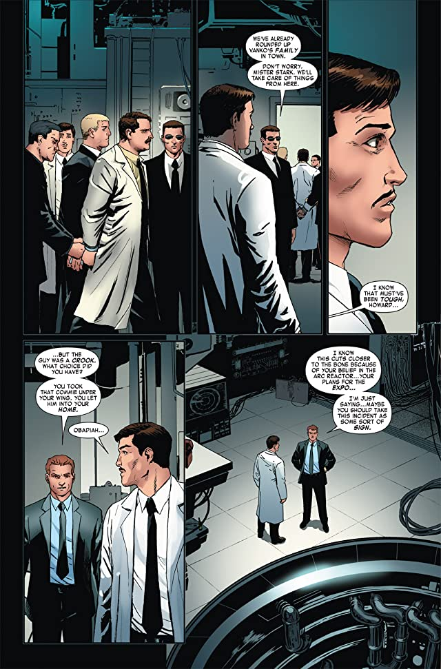 click for super-sized previews of Iron Man 2: Public Identity #2 (of 3)