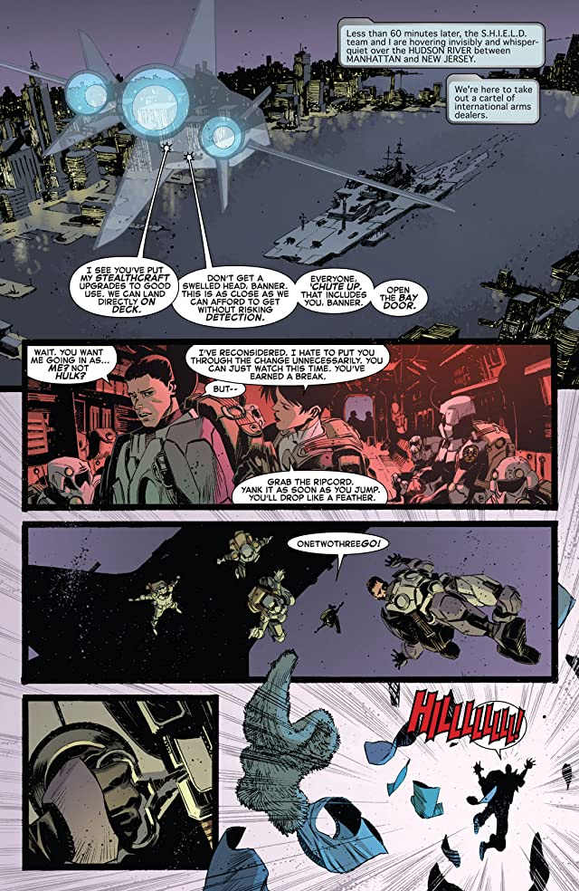 click for super-sized previews of Indestructible Hulk #9