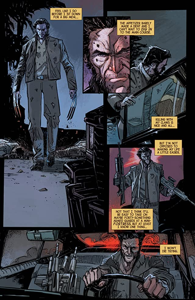 click for super-sized previews of Wolverine Max #8