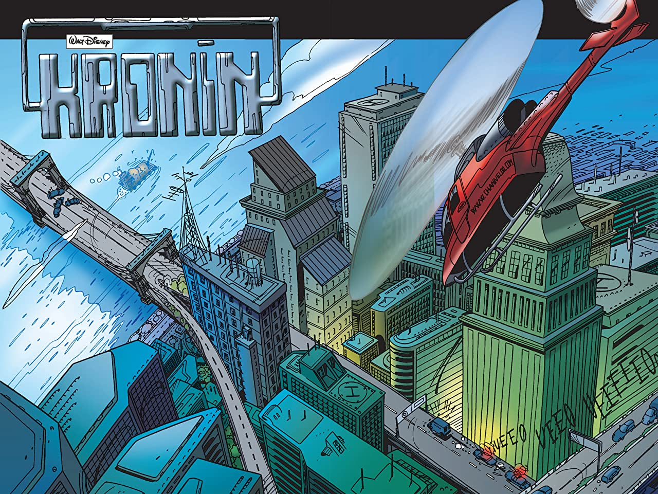 Superduck #8: Kronin