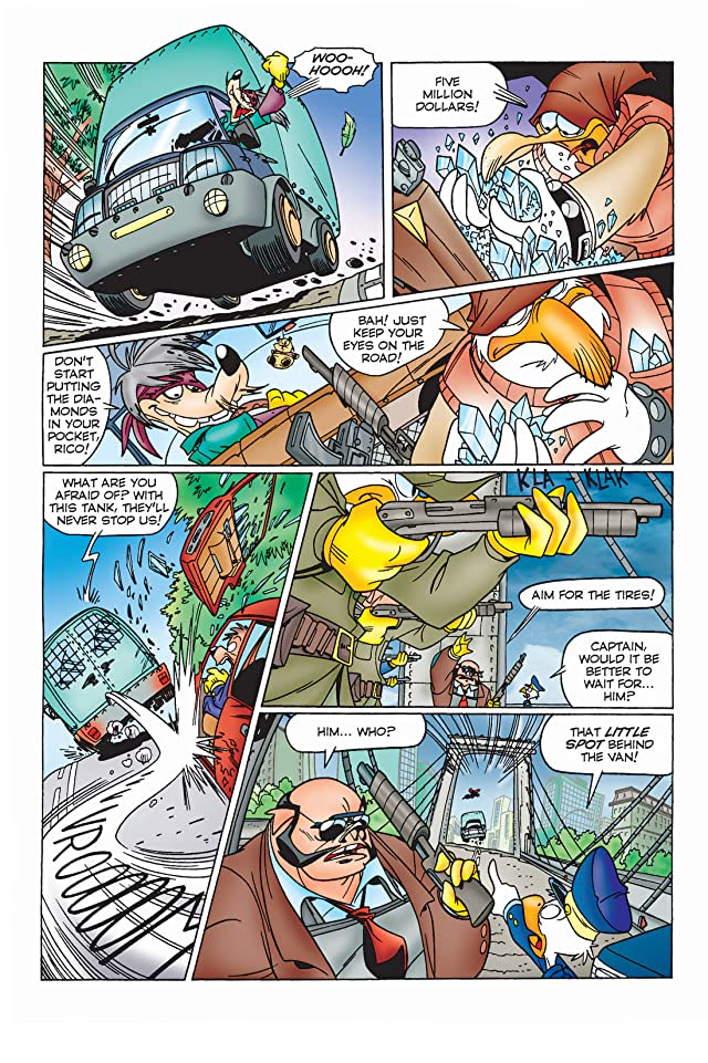 click for super-sized previews of Superduck #8: Kronin