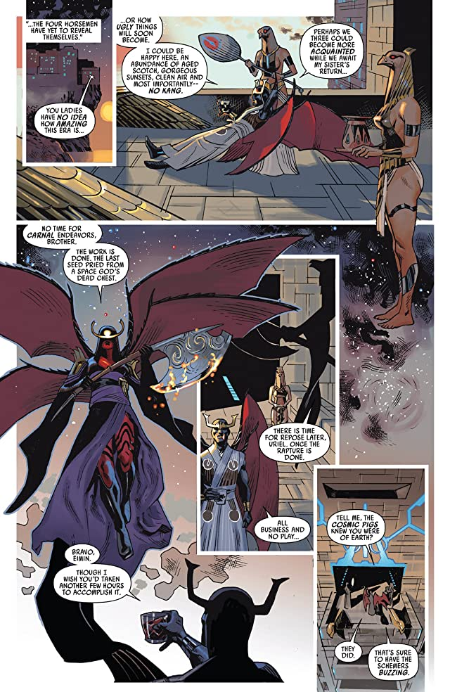 click for super-sized previews of Uncanny Avengers #9