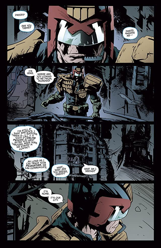 click for super-sized previews of Judge Dredd: Year One #3