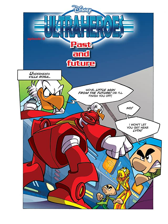 click for super-sized previews of Ultraheroes #7: Past and Future