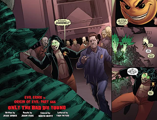 click for super-sized previews of Evil Ernie #6: Digital Exclusive Edition