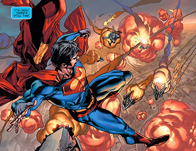 click for super-sized previews of Adventures of Superman (2013-2014) #8
