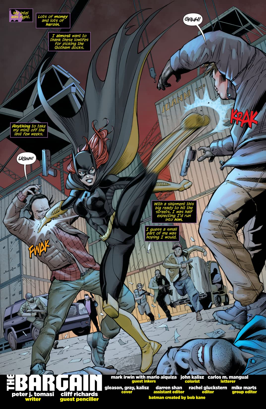 Batman and Robin (2011-2015) #21: Batgirl