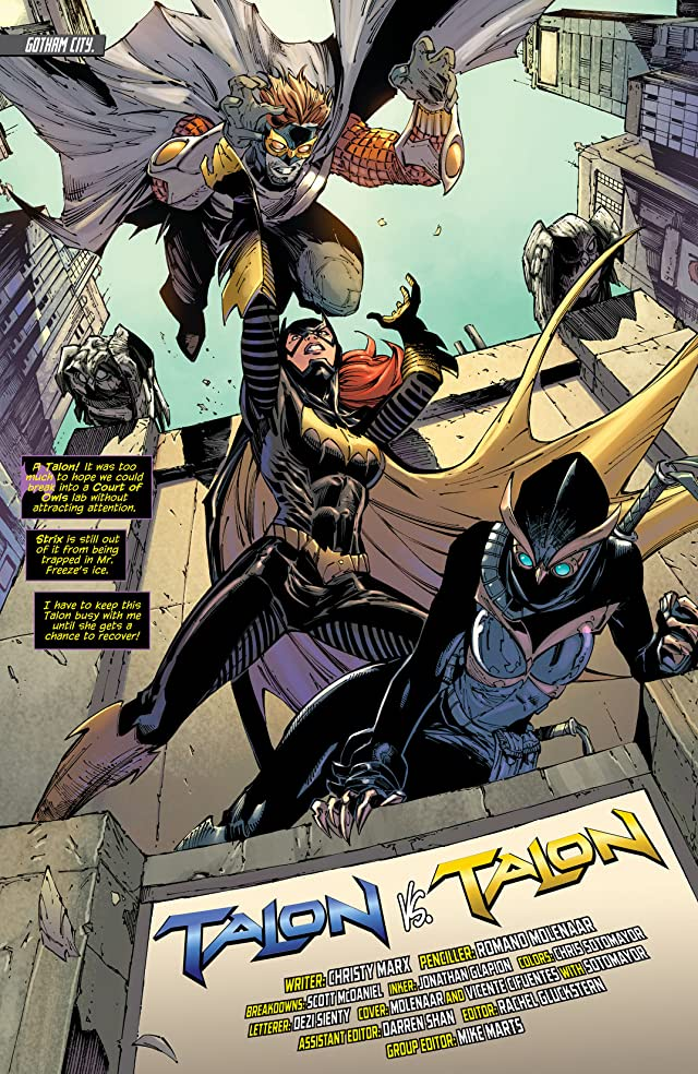Birds of Prey (2011-2014) #21