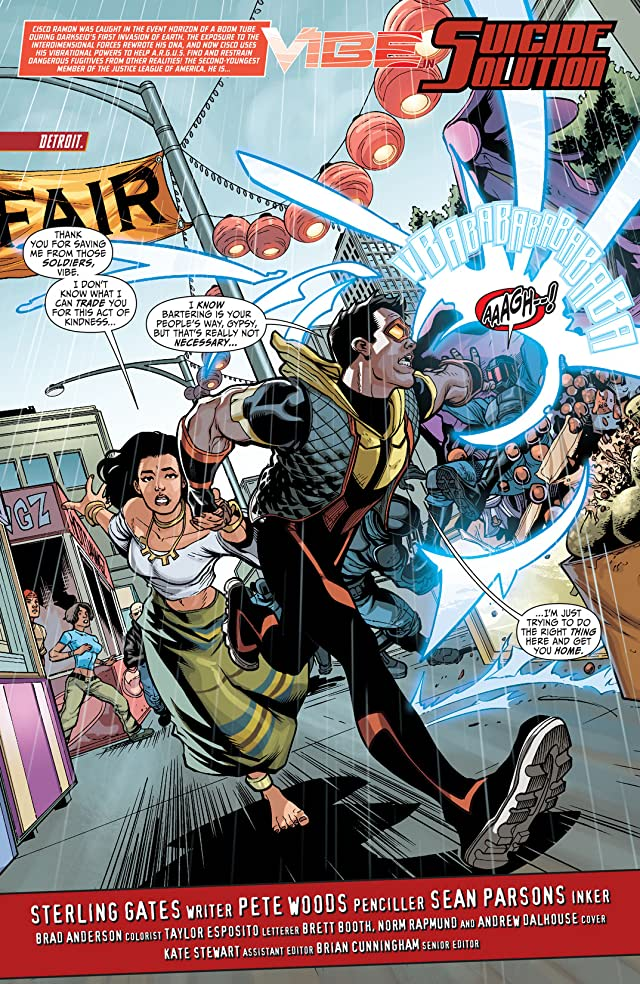 Justice League of America's Vibe (2013) #5