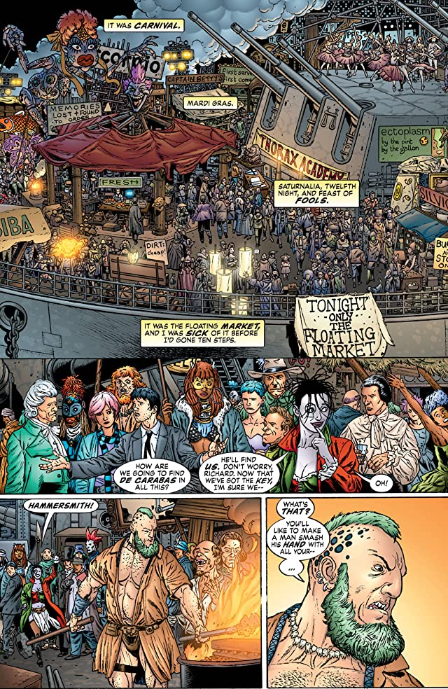 click for super-sized previews of Neil Gaiman's Neverwhere #8