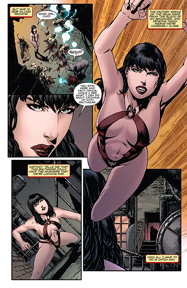 click for super-sized previews of Vampirella Strikes #6: Digital Exclusive Edition