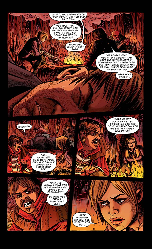 click for super-sized previews of Kill Shakespeare #5