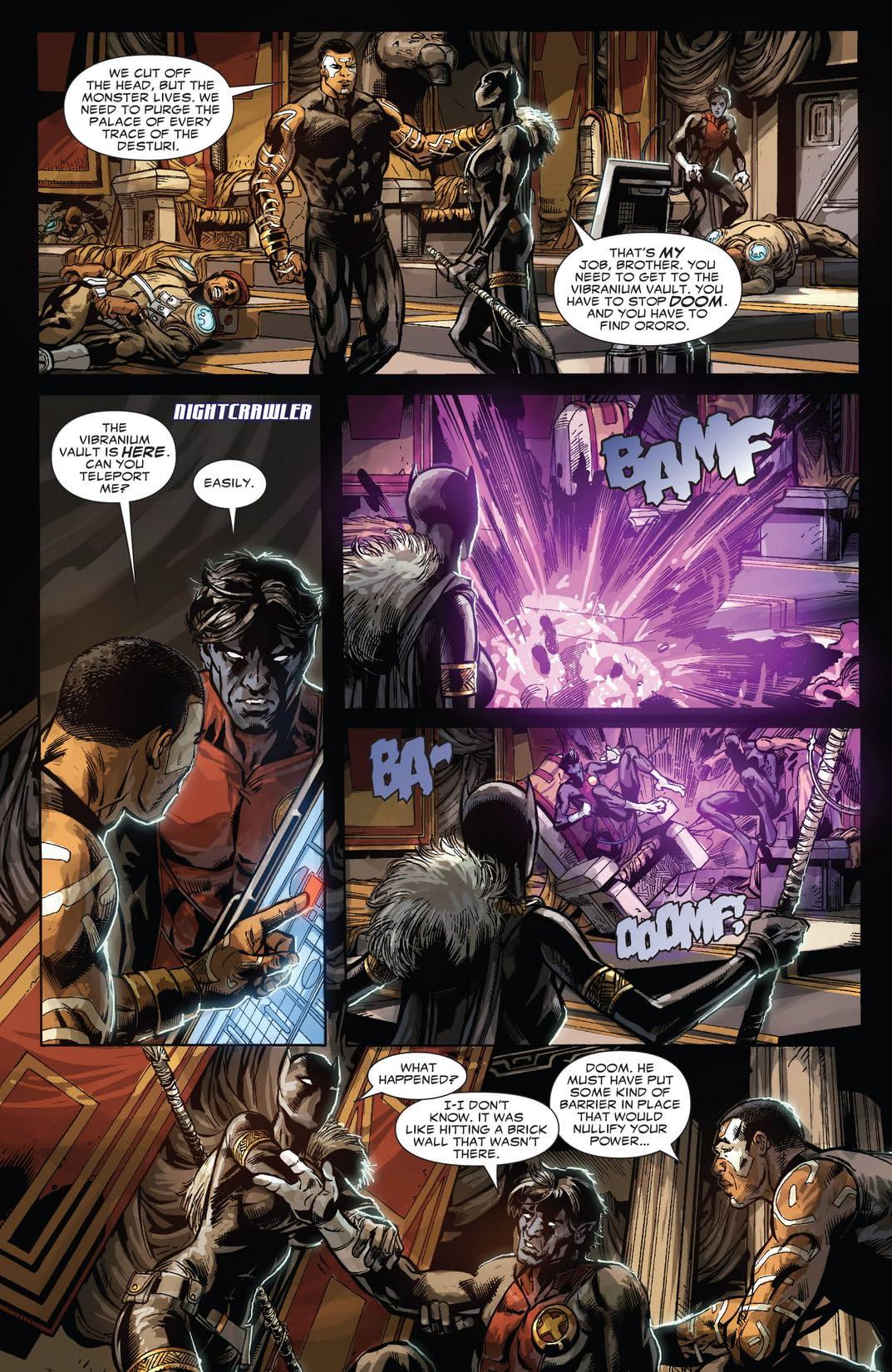 Doomwar #2 (of 6)