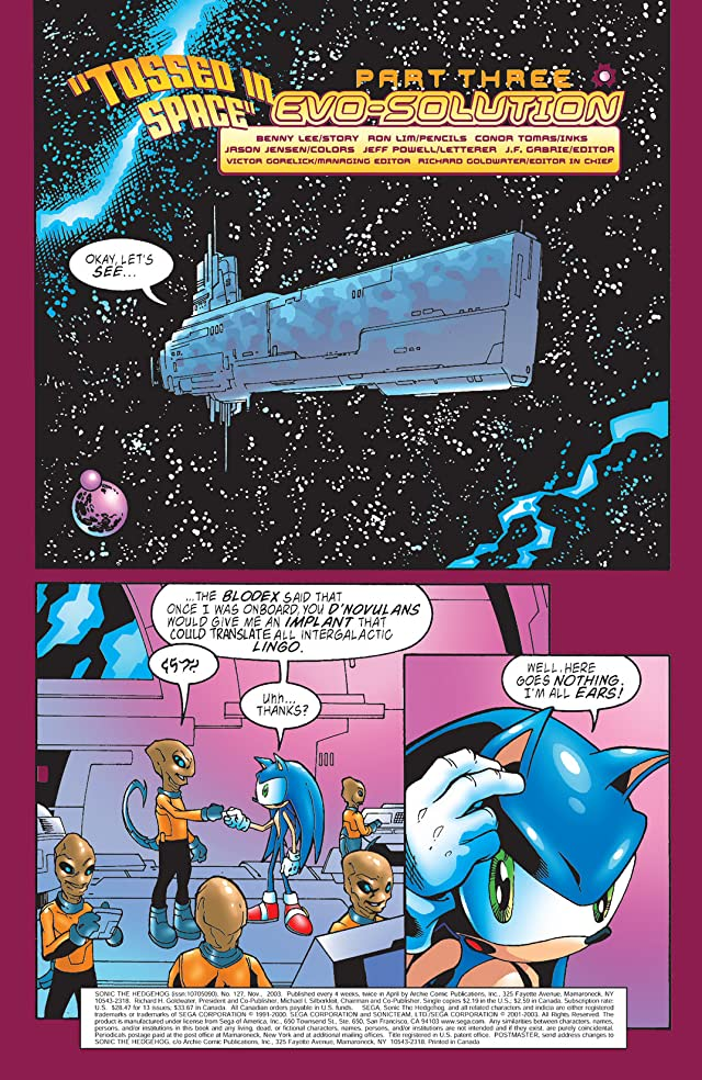 Sonic the Hedgehog #127