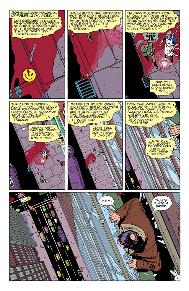 click for super-sized previews of Watchmen #1