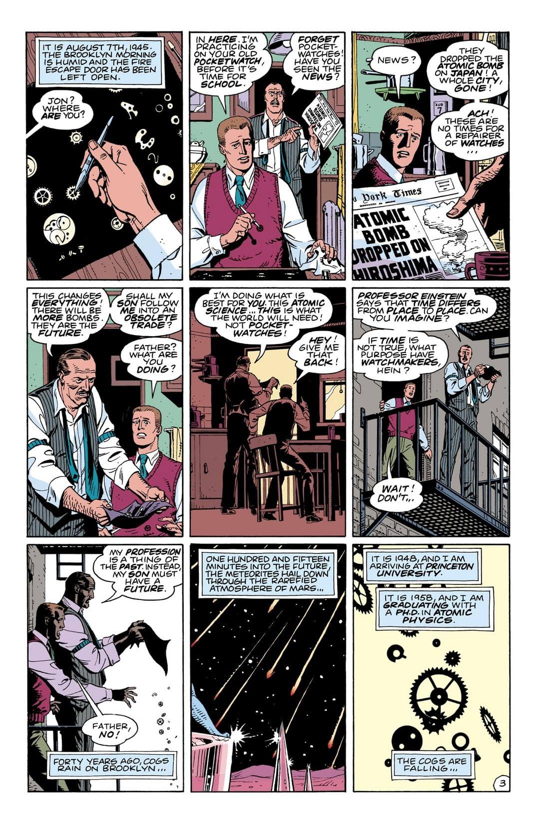 Watchmen #4 (of 12)