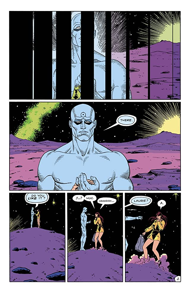 click for super-sized previews of Watchmen #9