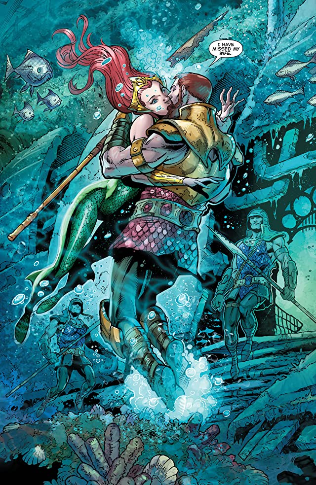 click for super-sized previews of Aquaman (2011-) #21