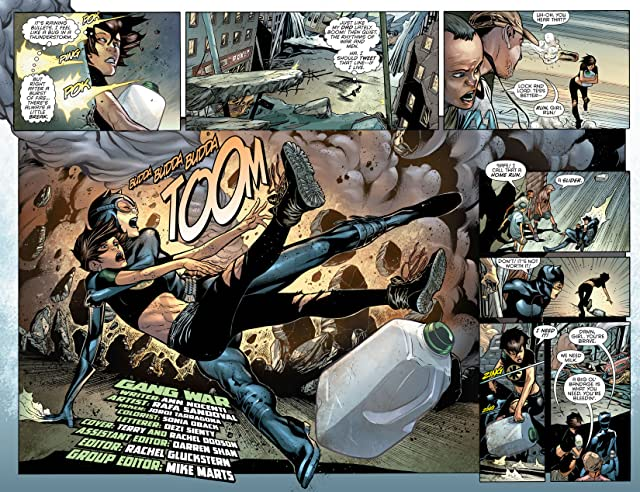 click for super-sized previews of Catwoman (2011-) #21