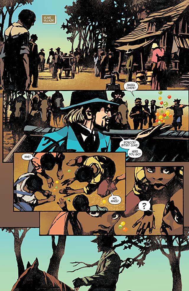 click for super-sized previews of Django Unchained #5