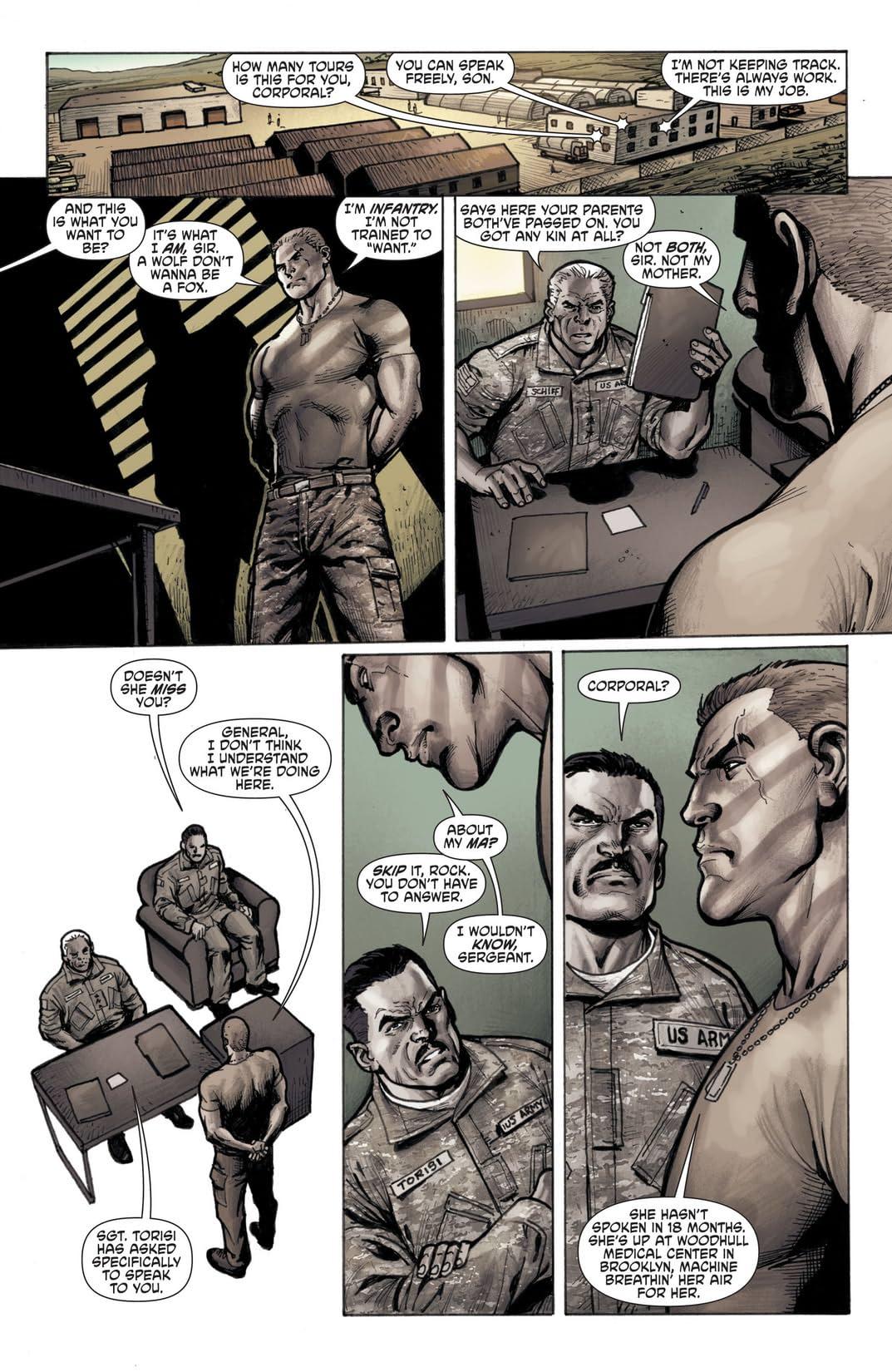 Men of War (2011-2012) #1