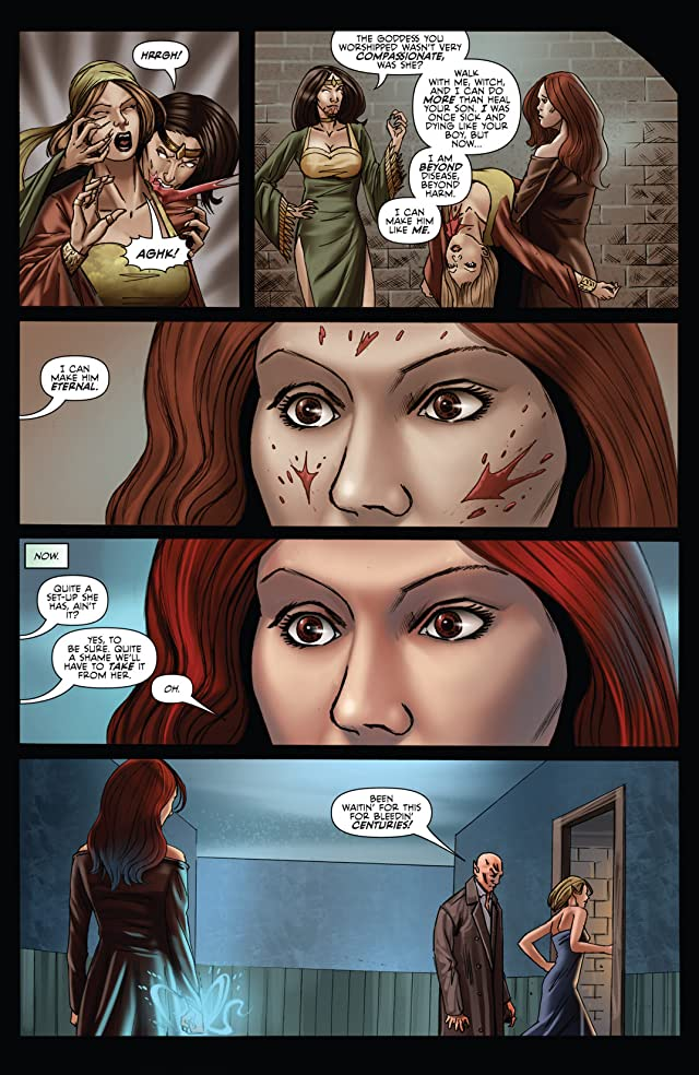 Grimm Fairy Tales Unleashed: Vampires: The Eternal #3 (of 3)