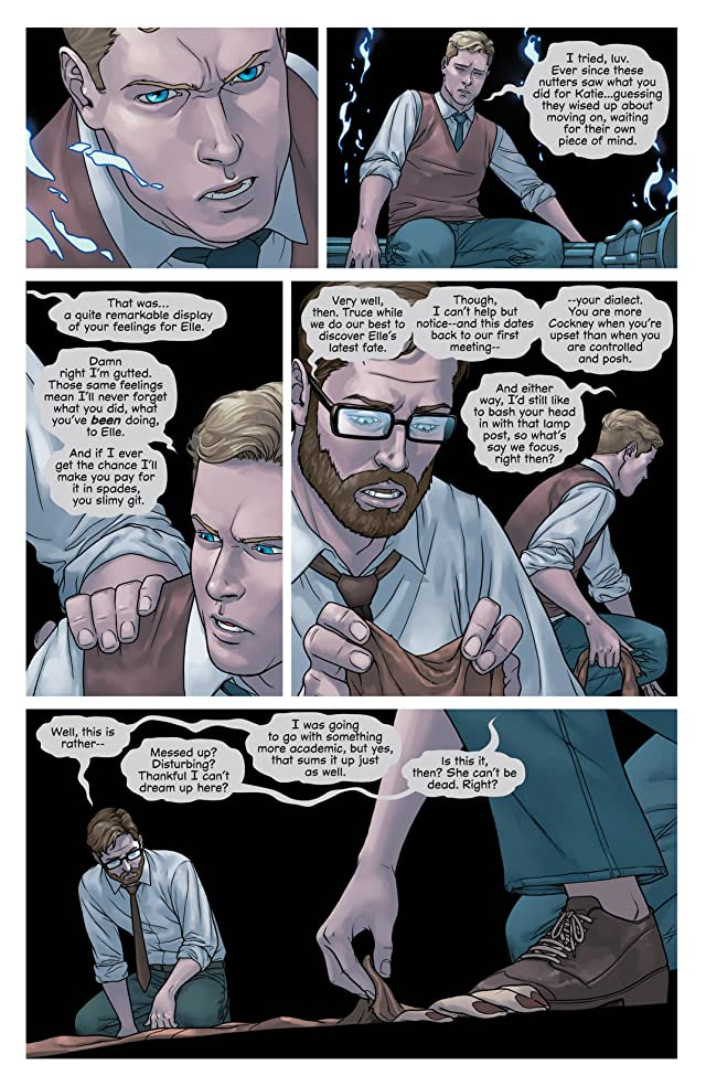 click for super-sized previews of Mind the Gap #11