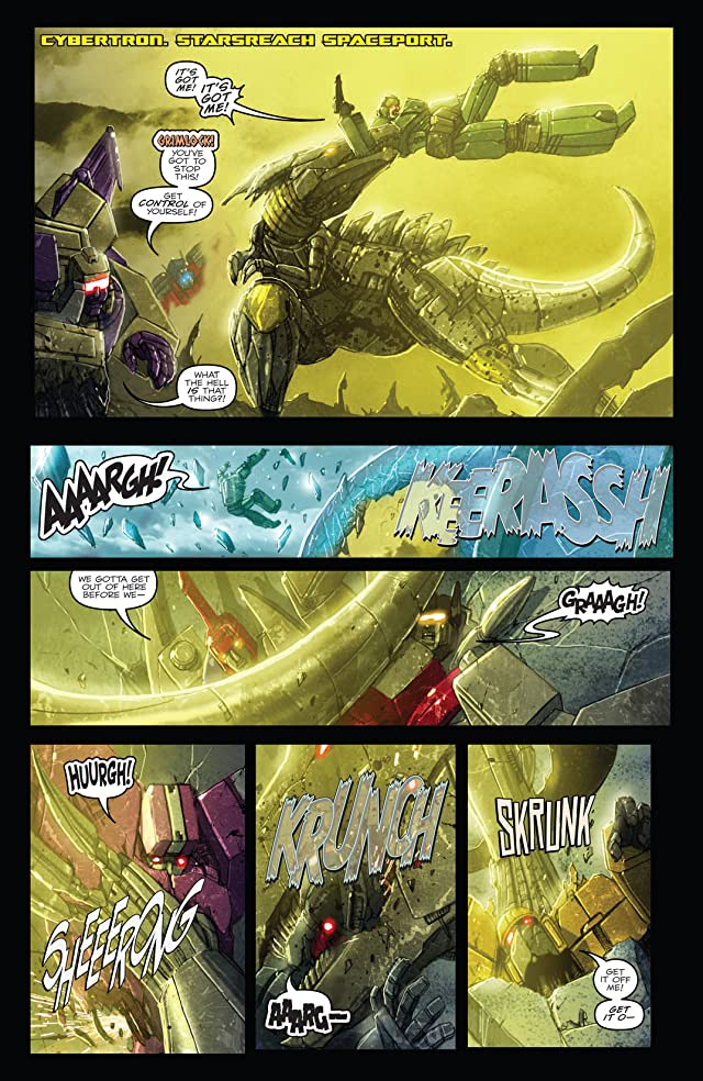click for super-sized previews of Transformers: Monstrosity #9