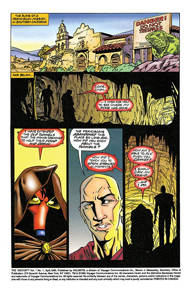 The Visitor (1995) #1