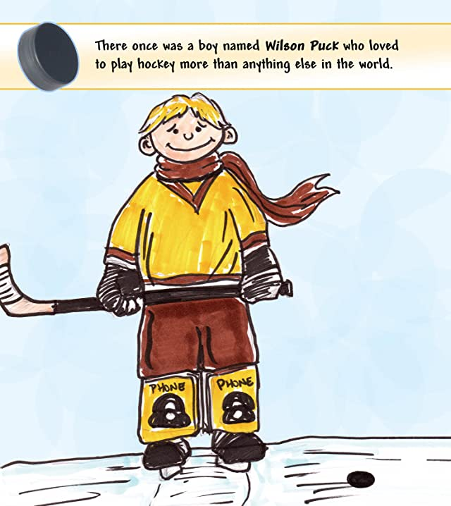 click for super-sized previews of Wilson Puck