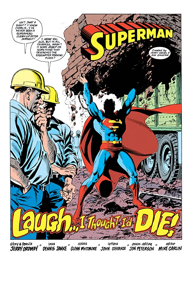 click for super-sized previews of Superman (1987-2006) #36
