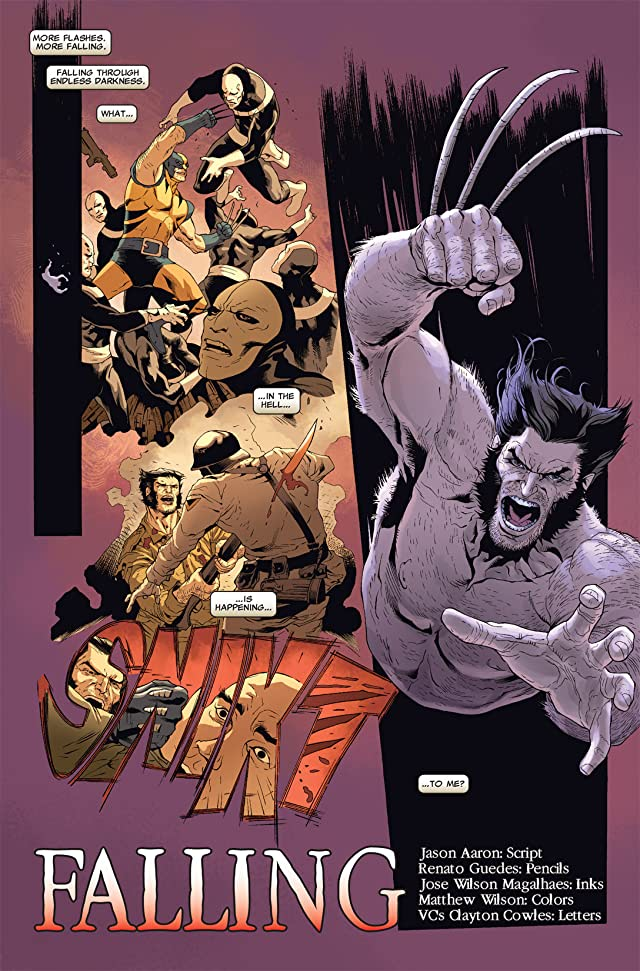 click for super-sized previews of Wolverine: Road To Hell #1