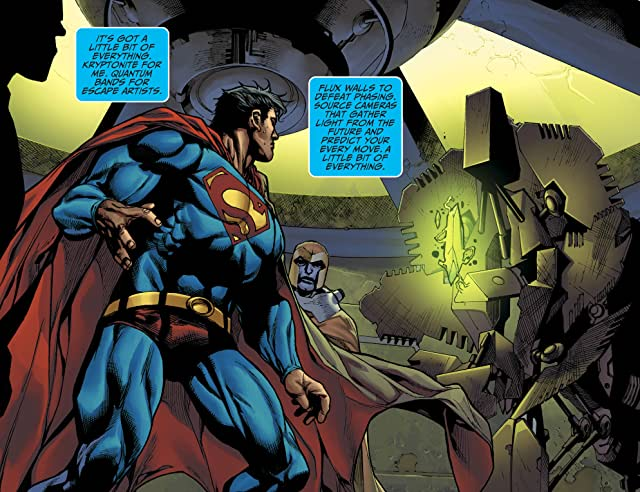 click for super-sized previews of Adventures of Superman (2013-2014) #9