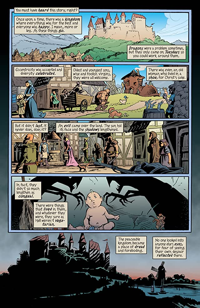 click for super-sized previews of The Unwritten #50