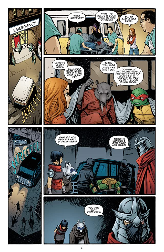click for super-sized previews of Teenage Mutant Ninja Turtles #23