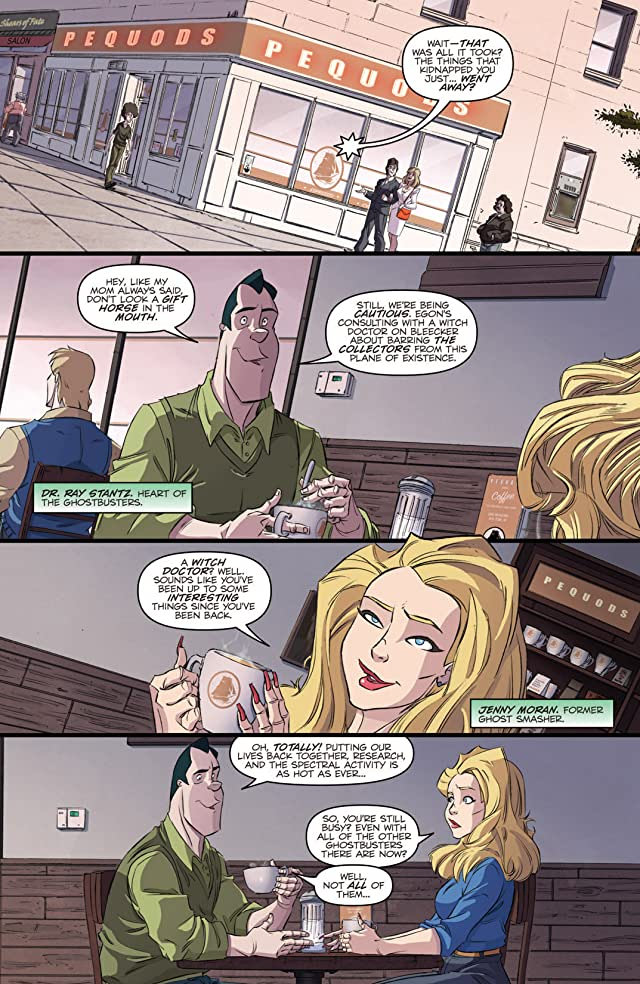 click for super-sized previews of Ghostbusters (2013-) #5