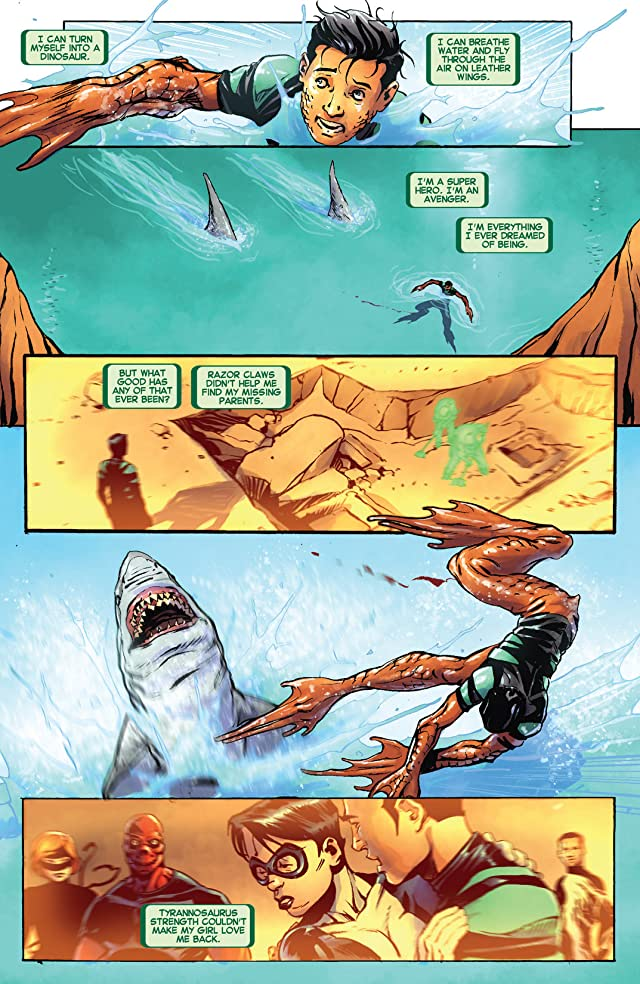 click for super-sized previews of Avengers Arena #11