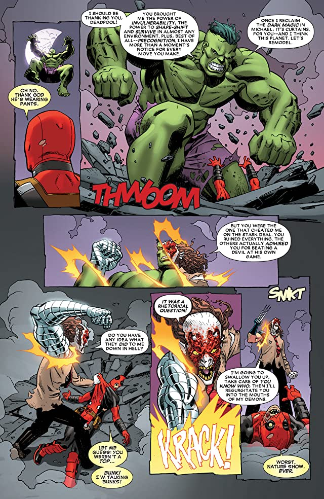 click for super-sized previews of Deadpool (2012-) #12