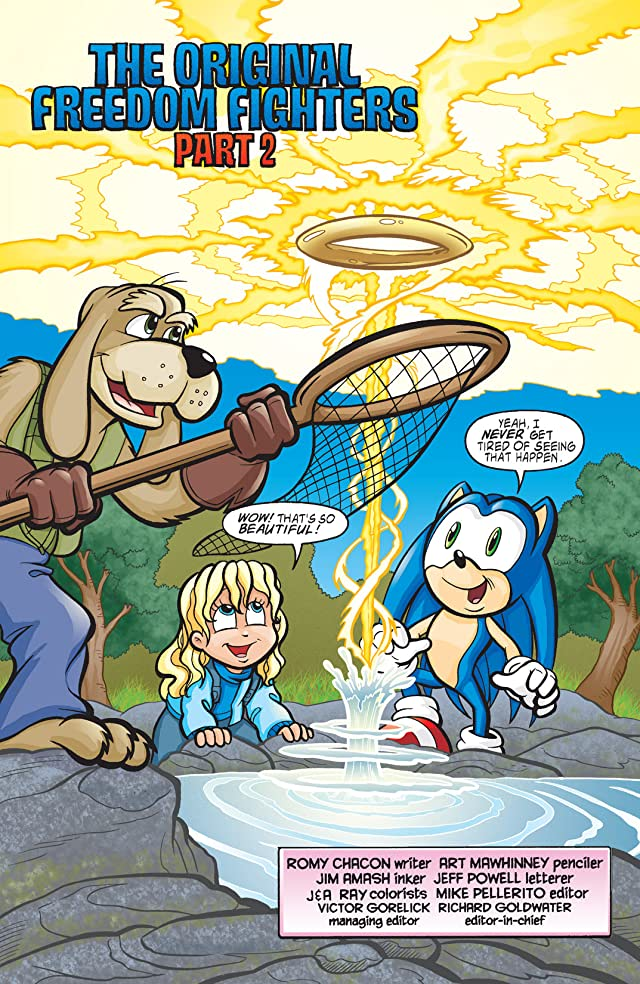 click for super-sized previews of Sonic the Hedgehog #143