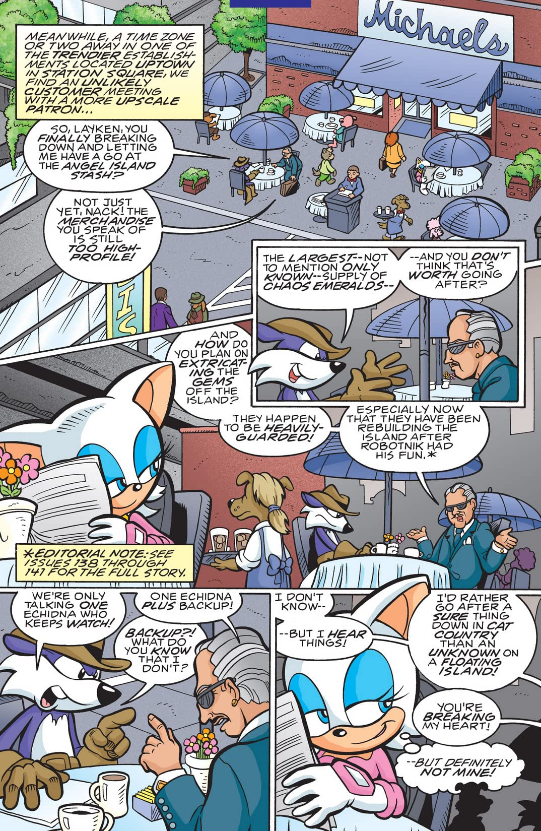 Sonic the Hedgehog #150